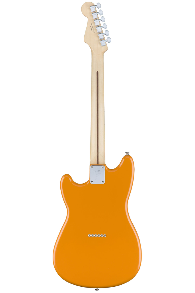 Fender Duo-Sonic with Maple Fingerboard - Capri Orange - Bananas at Large - 3