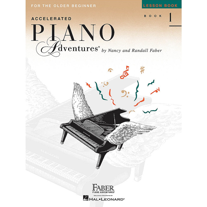 Hal Leonard Accelerated Piano Adventures for the Older Beginner Lesson Book 1 - Bananas At Large®