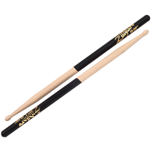 Zildjian 5BWD Black Dip 5B Wood Tip Drumsticks - Bananas at Large