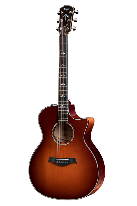 Taylor 614ce LTD with Quilt Maple and Desert Sunburst Acoustic Guitar