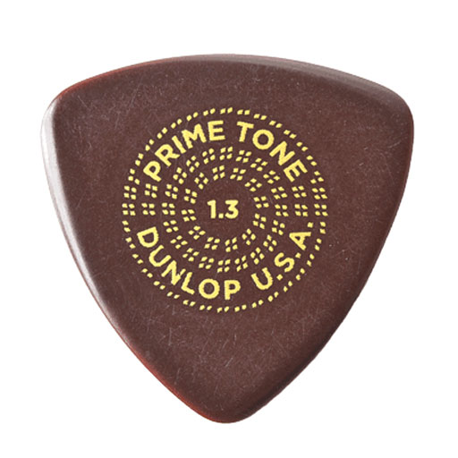 Dunlop 517 3-Pack Primetone Small Tri Sculpted Plectra - Bananas at Large