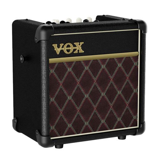 Vox MINI5 Rhythm 5Watt Battery Combo, Glassic Grill with AC - Bananas at Large