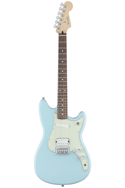 Fender Duo Sonic HS with Rosewood Fingerboard - Daphne Blue - Bananas at Large - 1