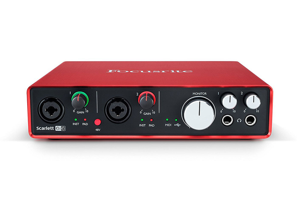 Focusrite Scarlett 6i6 (2nd Gen) USB Audio Interface - Bananas at Large - 1