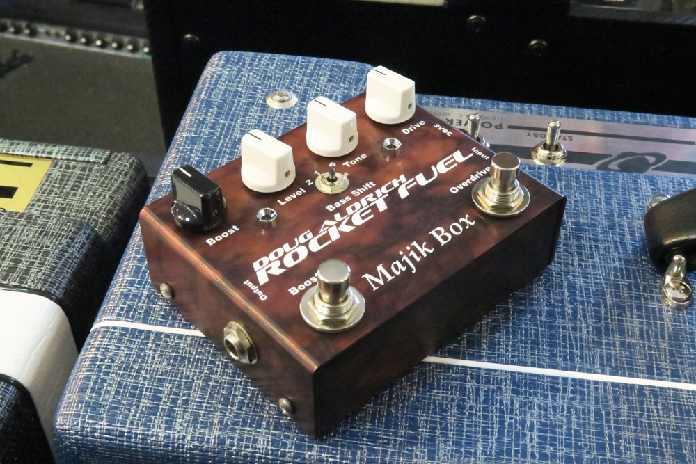 Majik Box Doug Aldrich Rocket Fuel Ltd 5th Anniversary Edition Pedal RFLTD (Pre-Owned) - Bananas at Large - 3