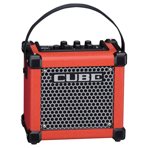 Roland MICRO CUBE GX Guitar Amplifier Red - Bananas at Large