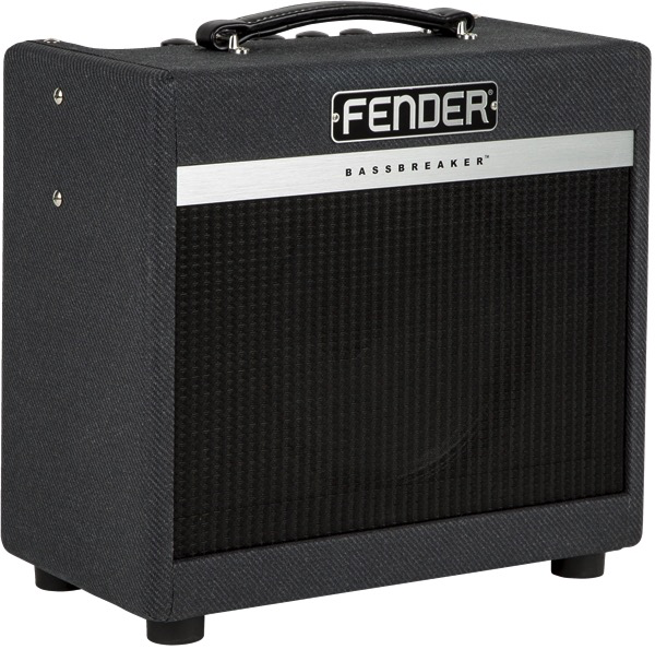 Fender Bassbreaker 007 Combo, Gray Tweed - Bananas at Large - 3