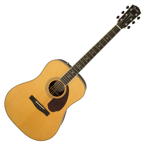Fender Paramount PM-1 Deluxe Dreadnought Acoustic Electric Guitar - Natural - Bananas At Large®