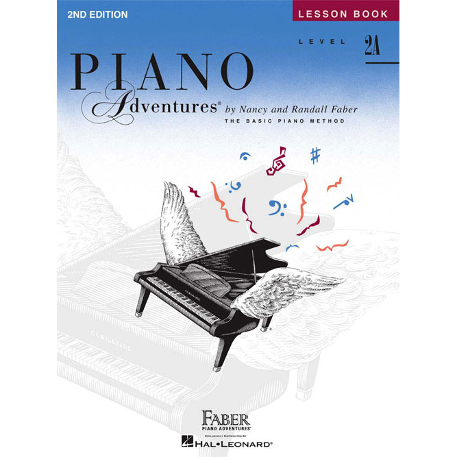 Hal Leonard Piano Adventures Level 2A Lesson Book 2nd Edition - Bananas At Large®
