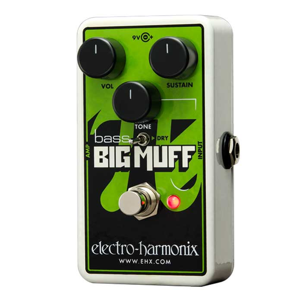 Nano Bass Big Muff Pi Distortion Bass Pedal - Bananas at Large