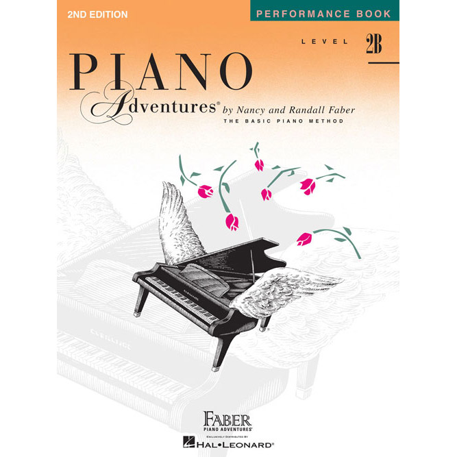 Hal Leonard Piano Adventures Level 2B Peformance Book 2nd Edition - Bananas At Large®