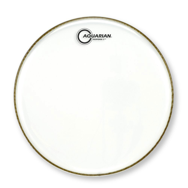 Aquarian RSP2-12 Response 2 Series 12 in. Clear Drum Head - Bananas At Large®