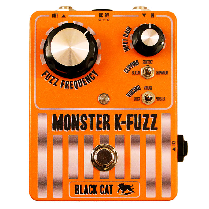 Black Cat Monster K-Fuzz Stompbox - Bananas At Large®