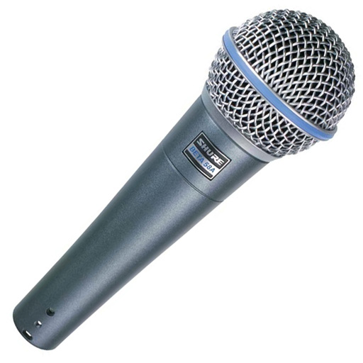 Shure Beta 58A Supercardioid Dynamic Vocal Mic - Bananas at Large