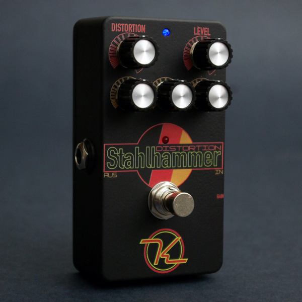 Keeley Stahlhammer Distortion with 2 Clipping Modes and 3 Band EQ - Bananas At Large®