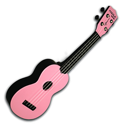 Kala Makala Soprano Waterman Tomato Ukelele Pink - Bananas At Large®