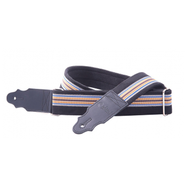 RightOn! Simple Guitar and Bass Strap Lemans Blue - Bananas at Large