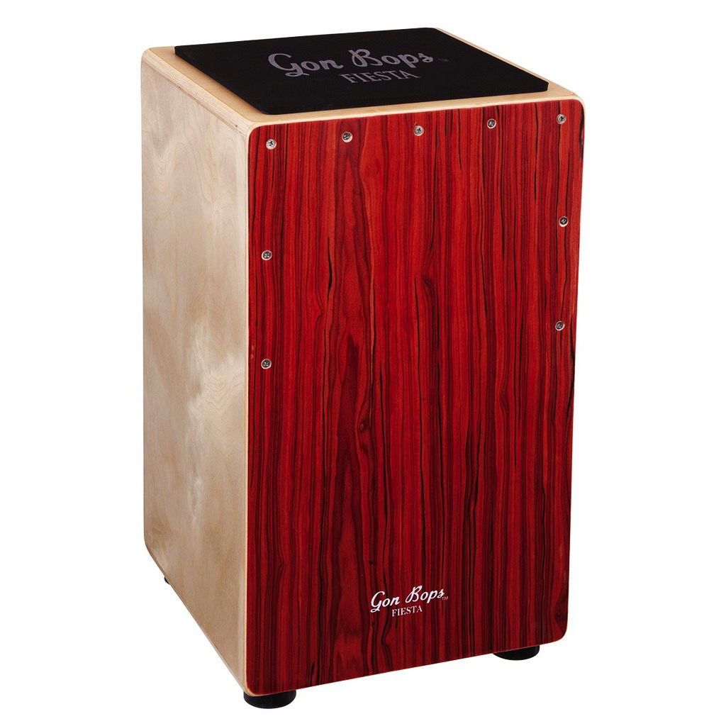 Gon Bops FSCJM Fiesta Cajon Mahogany with Gig Bag - Bananas At Large®