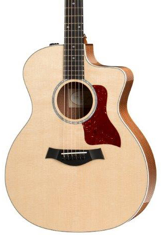 Taylor 214ce-FS DLX Special Edition Grand Auditorium Acoustic Electric Guitar - Figured Sapele