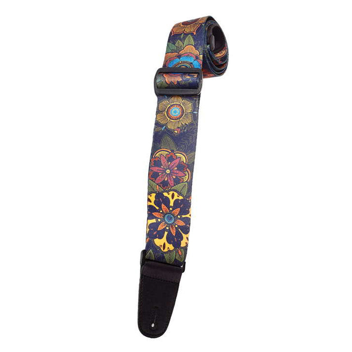 Henry Heller HSUB2-24 Polyester 2 In. Sublimation Printed Guitar Strap