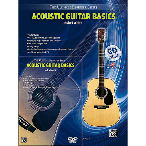 Alfred Ultimate Beginner Series Mega Pak, Acoustic Guitar Basics, Revised Edition - Bananas at Large