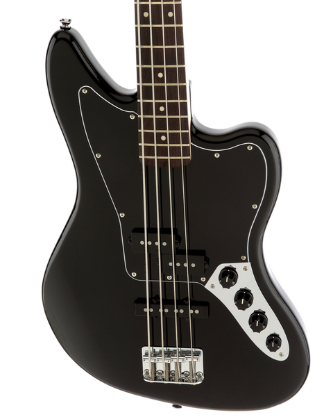 Squier Vintage Modified Jaguar Bass Special SS with Rosewood Fingerboard - Black