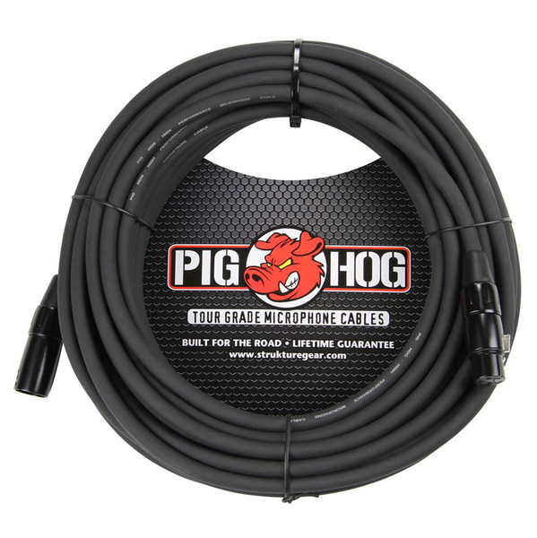 Pig Hog PHM50 8mm Mic Cable 50ft XLR - Bananas at Large