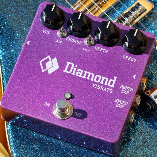 Diamond VIB1 Vibrato Pedal - Bananas At Large®