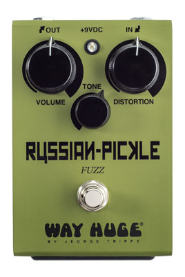 Way Huge WHE408 Russian Pickle Fuzz Pedal - Bananas at Large