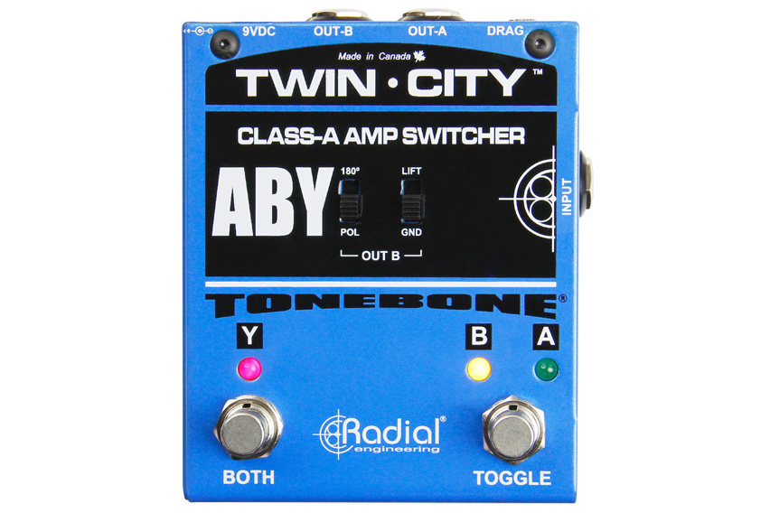 Radial Tonebone Twin-City Active ABY Switcher