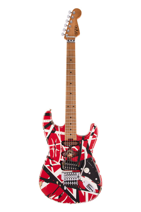 EVH Striped Series Frankie Electric Guitar