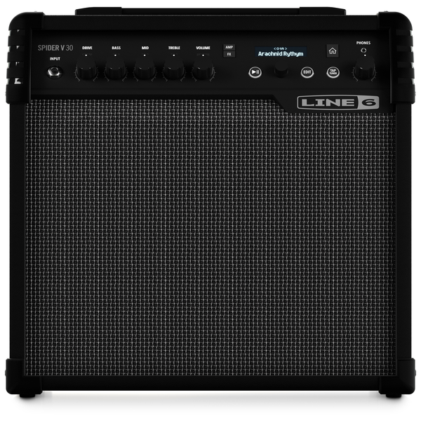 Line 6 Spider V 30 Guitar Combo Amp - Bananas at Large - 1