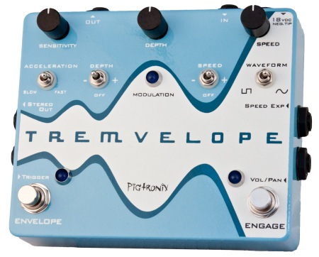Pigtronix Tremvelope Envelope Modulated Tremolo - Bananas at Large