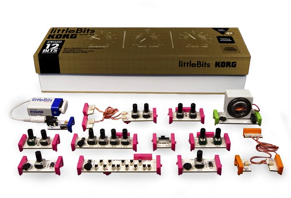 Korg Little Bits Build-Your-Own Synthesizer Kit - Bananas At Large®