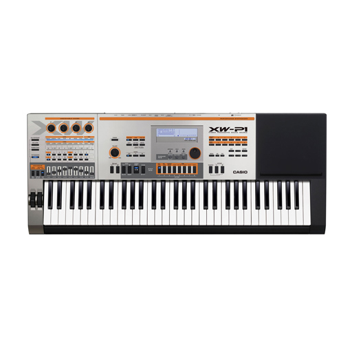 Casio XW-P1 Performance Keyboard Synthesizer, 61-Key - Bananas at Large