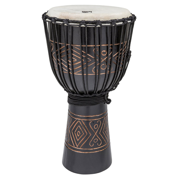 Toca TSSDJ Large Street Series Djembe Black Oynx - Bananas at Large