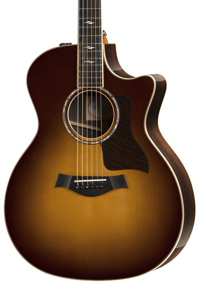 Taylor 814ce Grand Auditorium Acoustic Electric Guitar with Case - Tobacco Sunburst
