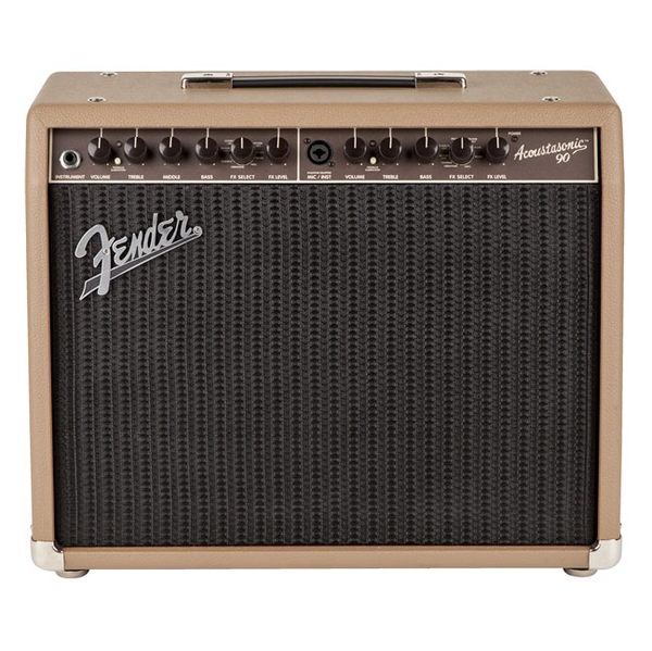 Fender Acoustasonic 90 Acoustic Guitar Amp - Brown and Wheat
