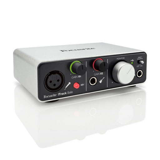 Focusrite ITrack Solo with Lighting Connection - Bananas At Large®