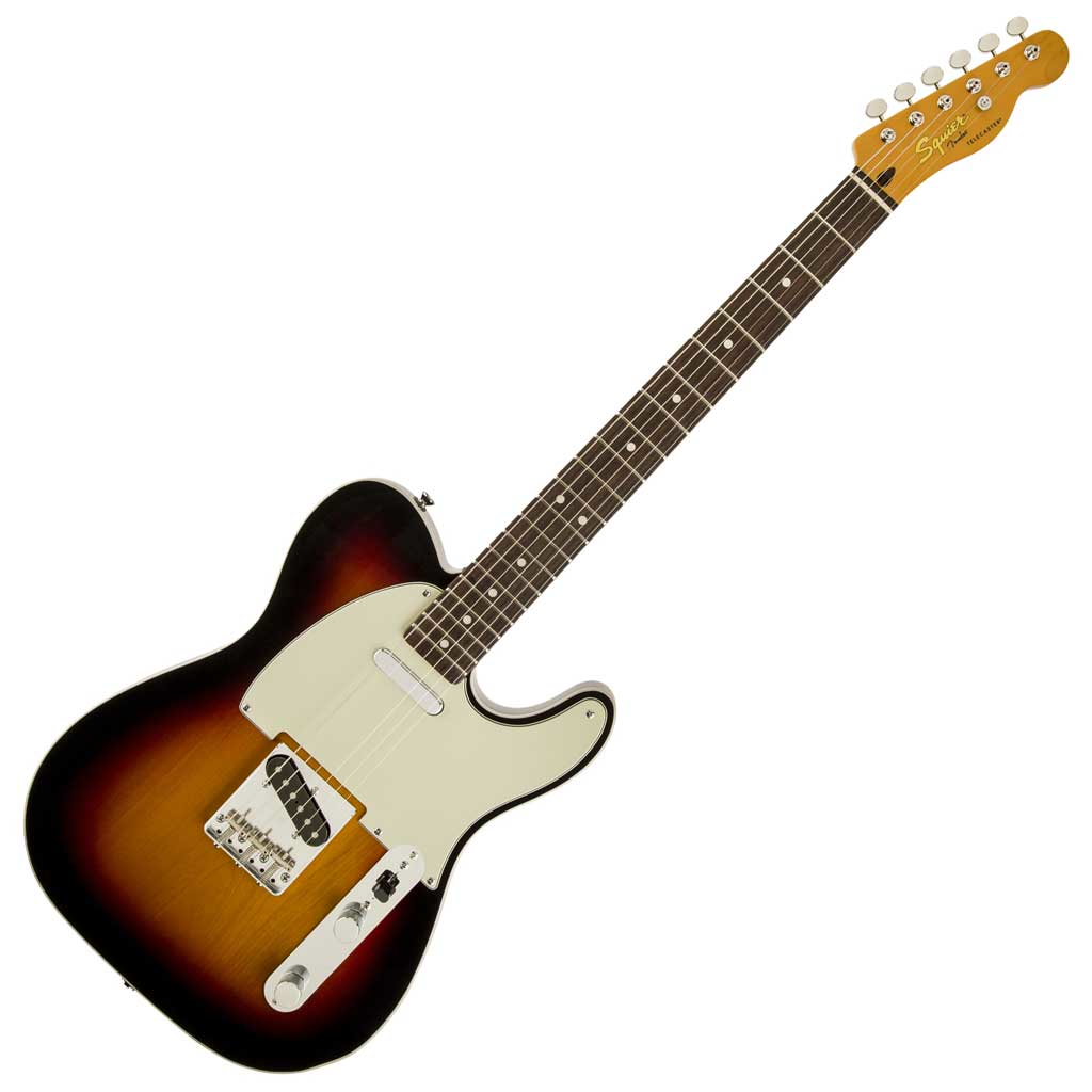 Squier Classic Vibe Telecaster Custom - 3 Tone Sunburst - Bananas at Large