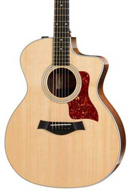 Taylor 214ce DLX Grand Auditorium Acoustic-Electric Guitar with ES2