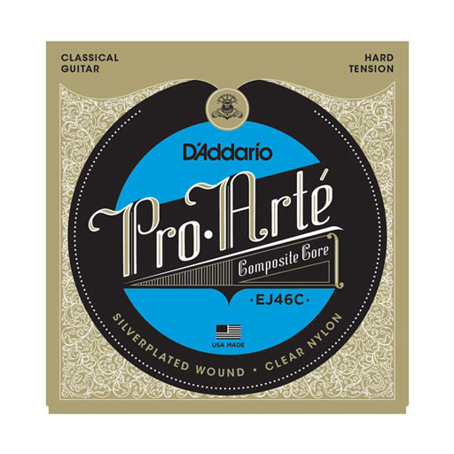 DAddario EJ46C Pro-Arte Composite Classical Strings Hard Tension - Bananas At Large®
