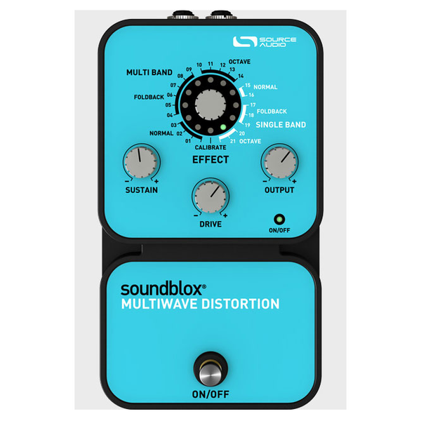 Source Audio SA120 Soundblox Multiwave Distortion Pedal - Bananas at Large