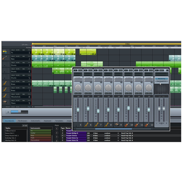 Magix Music Maker Premium Collection of loops, samples and studio [download]
