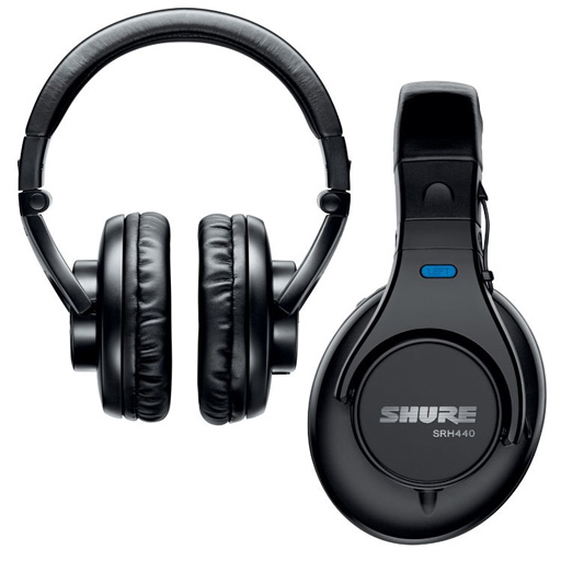 Shure SRH440 Professional Studio Headphones - Bananas at Large - 1