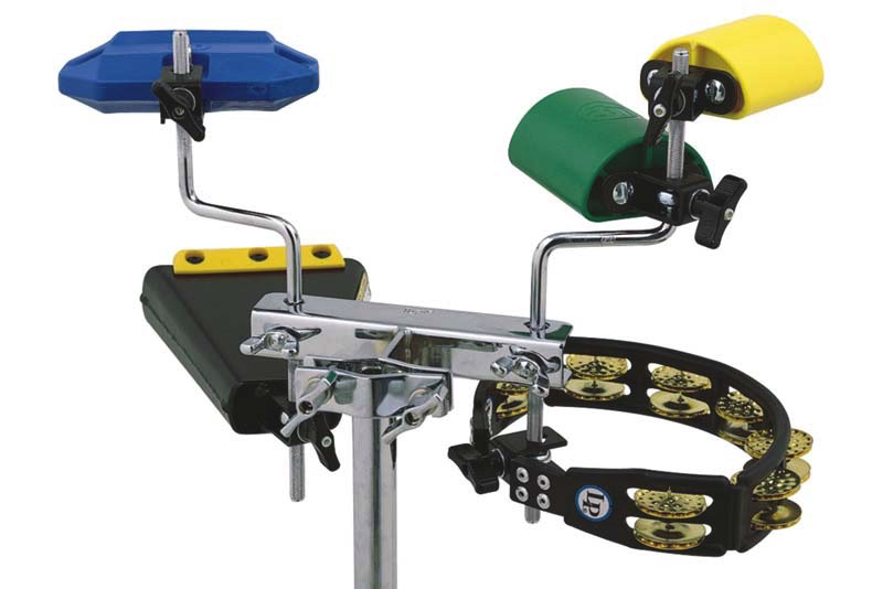 Latin Percussion LP472 Mini Everything Rack - Bananas at Large