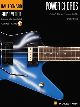 Hal Leonard Power Chords A Beginner's Guide with 20 Killer Rock Riffs - Bananas At Large®