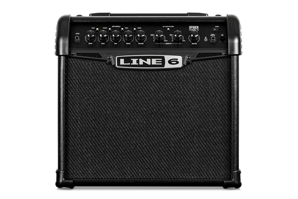 Line 6 Spider 15 Classic Guitar Combo Amp - Bananas at Large - 1
