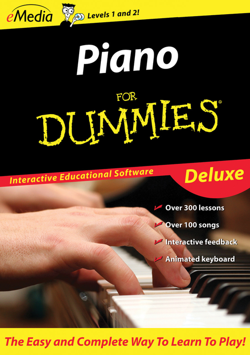 eMedia Piano Dummies Deluxe-MAC [Download] - Bananas at Large - 2