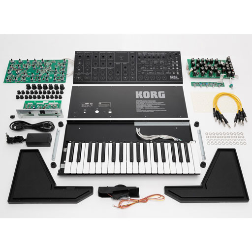 Korg MS20 Kit Monophonic Analog Synthesizer Build Kit - Bananas At Large®